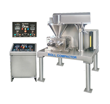 Roll Compactor(Granulation) cGMP Model - Rapid Mixer, High Speed Tablet Press cGMP